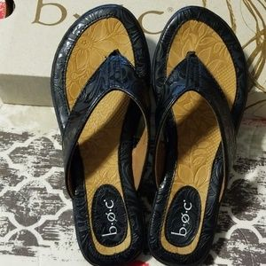 BOC Leather Flip Flops